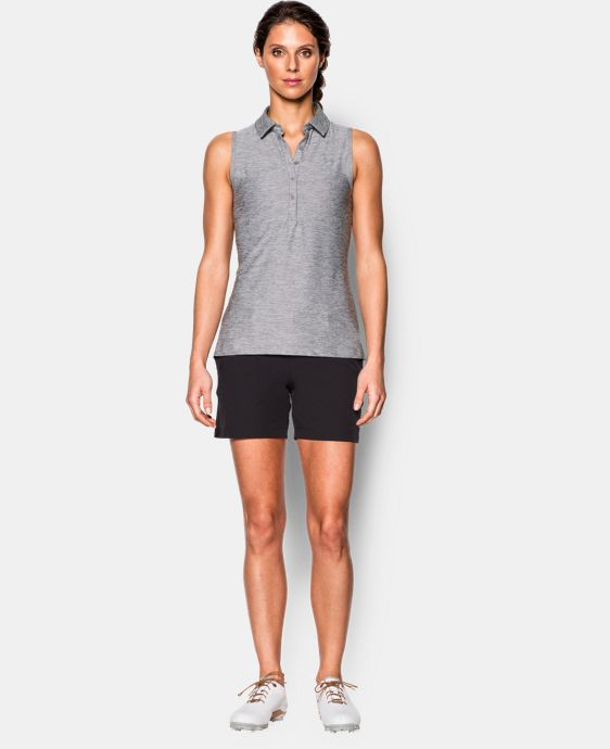 New Arrival  Women's UA Zinger Sleeveless Polo LIMITED TIME: FREE SHIPPING 2 Colors $48.99 to $64.99
