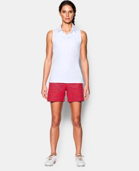 New Arrival  Women's UA Zinger Sleeveless Polo LIMITED TIME: FREE SHIPPING 1 Color $48.99 to $64.99