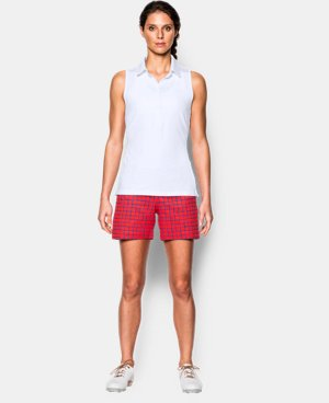New Arrival  Women's UA Zinger Sleeveless Polo  1 Color $48.99 to $64.99
