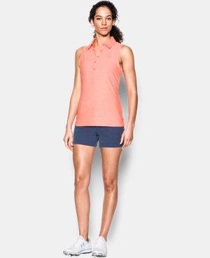 Best Seller Women's UA Zinger Sleeveless Polo LIMITED TIME: FREE U.S. SHIPPING 1 Color $54.99