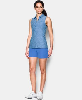 New Arrival Women's UA Zinger Sleeveless Polo  4 Colors $41.99