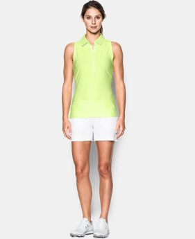 New Arrival Women's UA Zinger Sleeveless Polo  1 Color $31.49 to $41.99