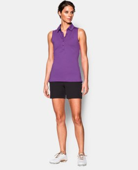 Women's UA Zinger Sleeveless Polo  1 Color $54.99