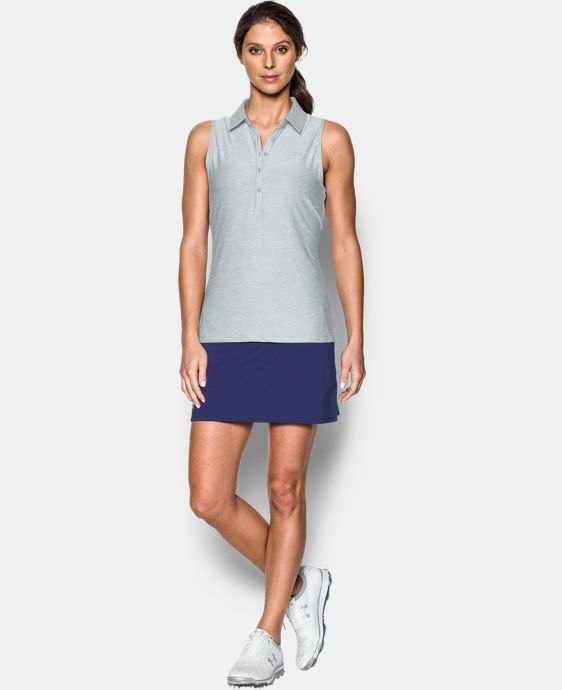Women's UA Zinger Sleeveless Polo  7 Colors $64.99