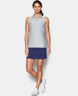 Women's UA Zinger Sleeveless Polo  7 Colors $64.99
