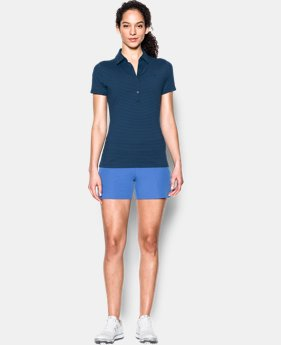 Women's UA Zinger Stripe Short Sleeve Polo  5 Colors $74.99