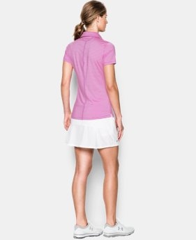 Women's UA Zinger Stripe Short Sleeve Polo  2 Colors $64.99