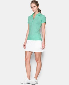 Best Seller Women's UA Zinger Stripe Short Sleeve Polo LIMITED TIME: FREE U.S. SHIPPING 1 Color $64.99