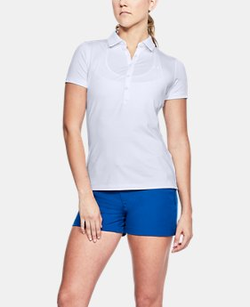 Best Seller Women's UA Zinger Printed Short Sleeve Polo   $64.99