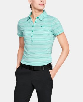 Best Seller Women's UA Zinger Novelty Polo  1  Color Available $64.99