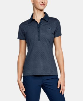 3bdfd14b Best Seller Women's UA Zinger Printed Polo 2 Colors Available $64.99