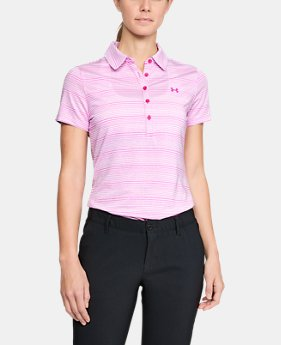 Women's UA Zinger Novelty Polo  2  Colors Available $74.99