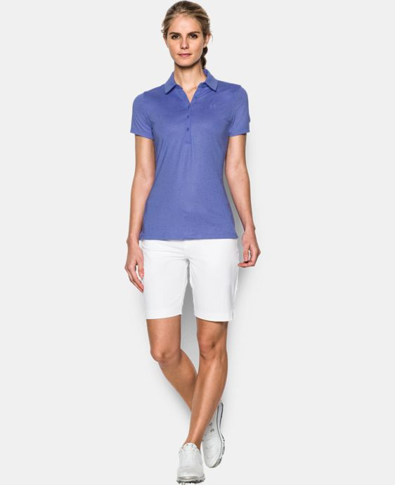 Best Seller Women's UA Zinger Printed Short Sleeve Polo LIMITED TIME: FREE U.S. SHIPPING 2 Colors $64.99
