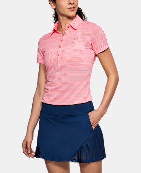 Best Seller Women's UA Zinger Novelty Polo LIMITED TIME: FREE U.S. SHIPPING 2  Colors Available $64.99