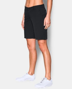 "Best Seller Women's UA Links 9"" Shorts LIMITED TIME: FREE SHIPPING 2 Colors $74.99"