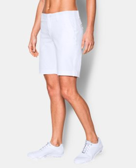 "Best Seller Women's UA Links 9"" Shorts  1  Color $74.99"