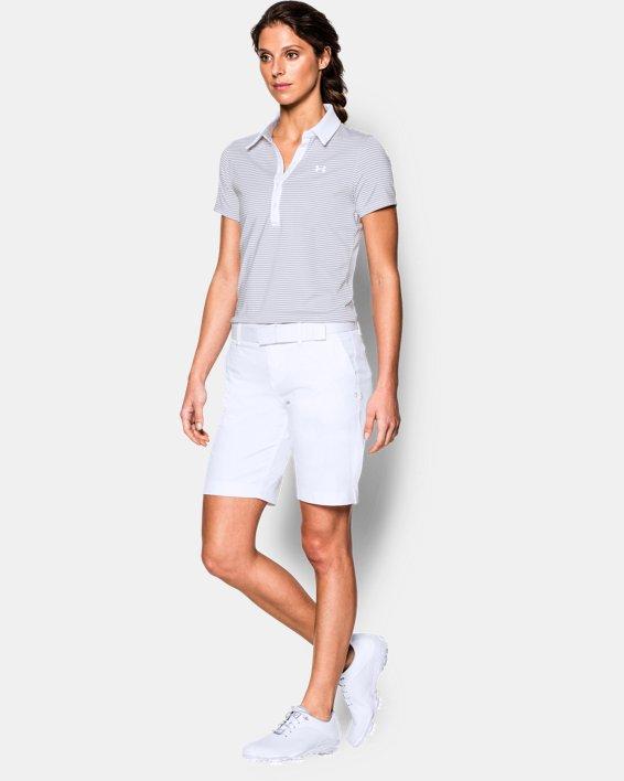 """Women's UA Links 9"""" Shorts, White, pdpMainDesktop image number 2"""