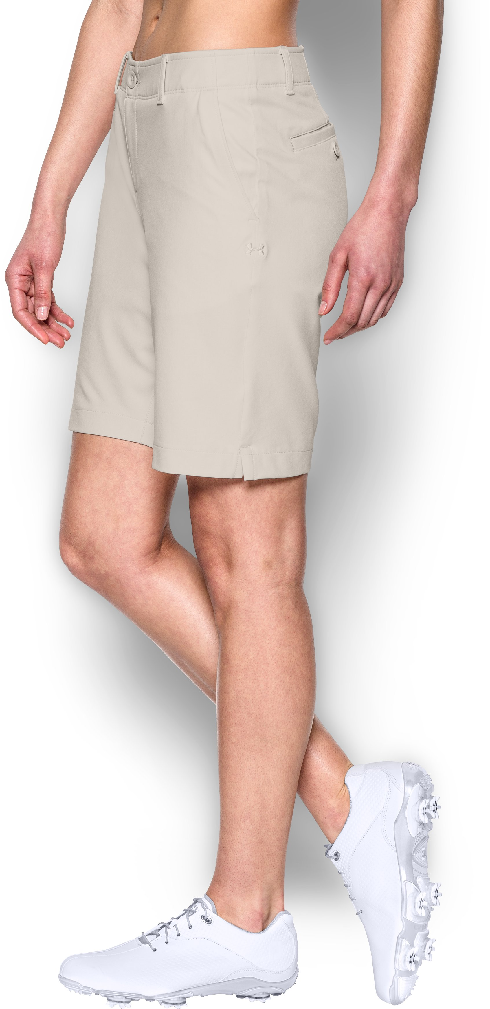 "Women's UA Links 9"" Shorts, Vanilla, zoomed image"