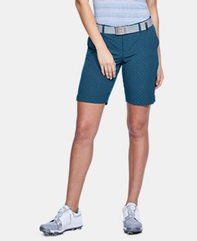 "Best Seller Women's UA Links 9"" Shorts  3  Colors Available $74.99"