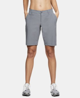 "Women's UA Links 9"" Shorts LIMITED TIME: FREE SHIPPING 1  Color Available $84.99"