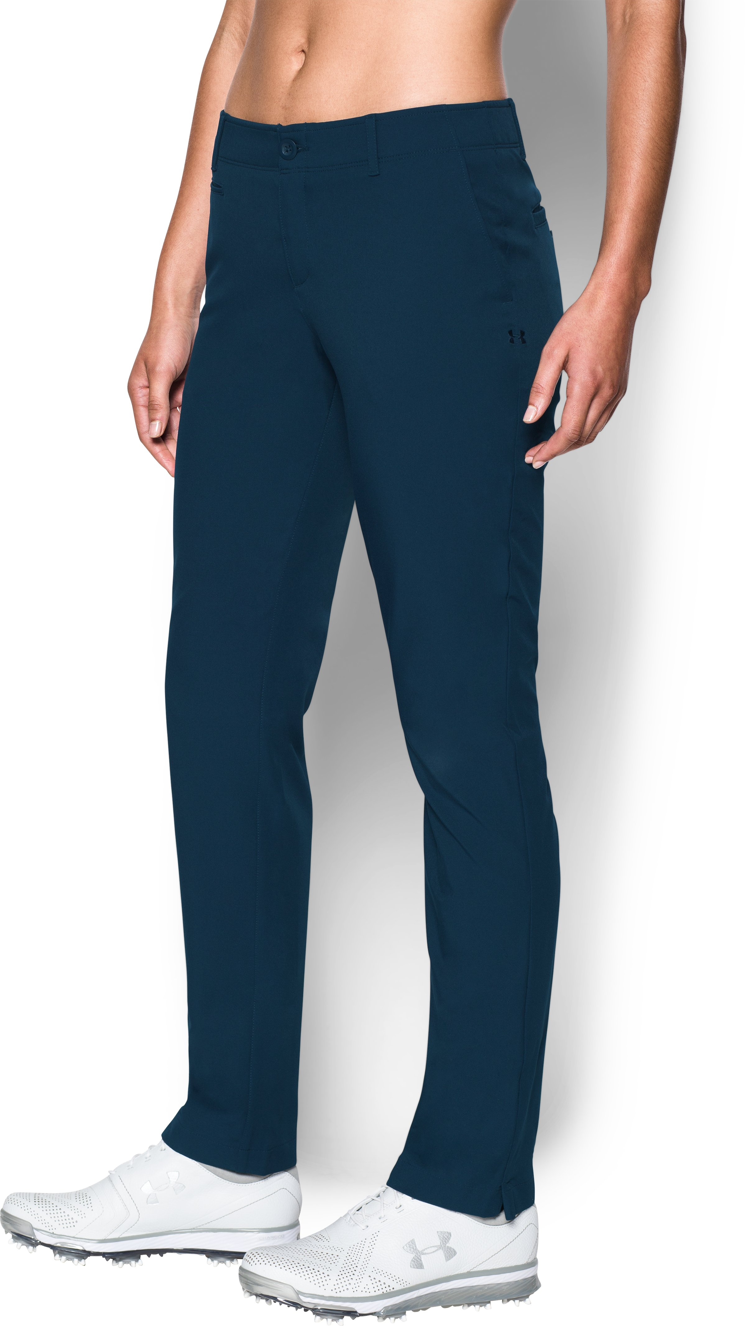 Women's UA Links Pants, Academy, zoomed image
