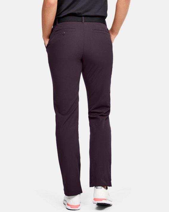 Women's UA Links Pants, Purple, pdpMainDesktop image number 2