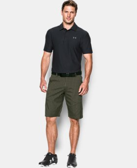 Best Seller Men's UA Match Play Patterned Shorts LIMITED TIME: FREE SHIPPING 1 Color $69.99