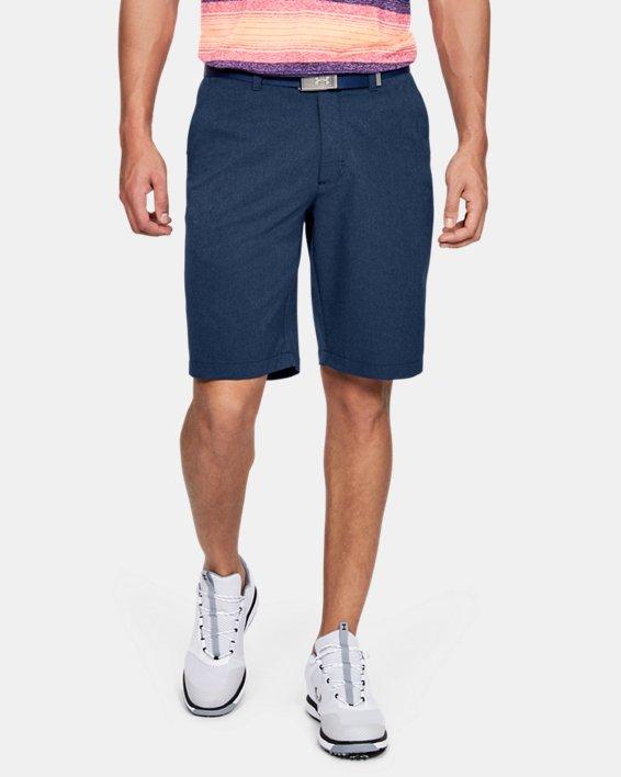 Men's UA Match Play Vented Shorts, Navy, pdpMainDesktop image number 0