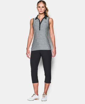 Women's UA Zinger Sleeveless Polo - Color Block  1 Color $54.99