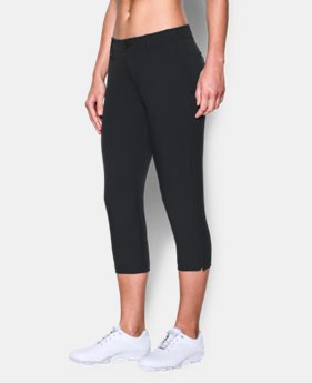 Best Seller Women's UA Links Capris  1  Color Available $74.99