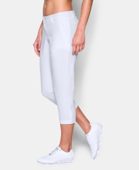 New Arrival Women's UA Links Capri Pant  1 Color $74.99