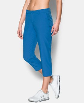 Women's UA Links Capris  1 Color $44.99