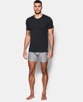 New Arrival  Men's UA Core Crew Undershirt – 2-Pack  3 Colors $44.99