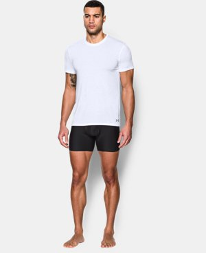 Best Seller  Men's UA Core Crew Undershirt – 2-Pack LIMITED TIME: FREE SHIPPING 1 Color $44.99