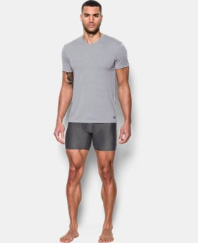 New Arrival Men's UA Core V-Neck Undershirt – 2-Pack   $40