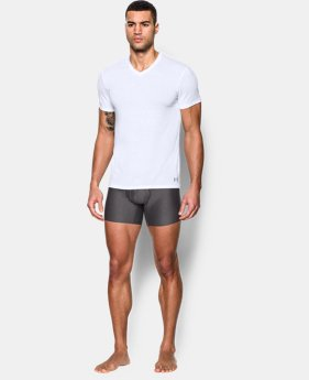 New Arrival Men's UA Core V-Neck Undershirt – 2-Pack  1 Color $40