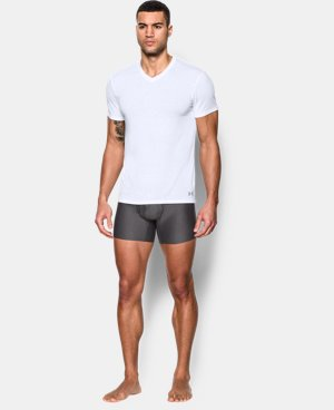 New Arrival  Men's UA Core V-Neck Undershirt – 2-Pack  1 Color $44.99