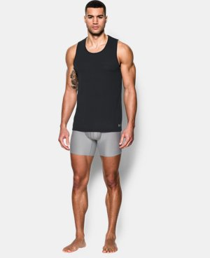 New Arrival  Men's UA Core Tank Undershirt – 2-Pack  3 Colors $39.99