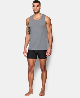Best Seller  Men's UA Core Tank Undershirt – 2-Pack LIMITED TIME: FREE SHIPPING 1 Color $39.99
