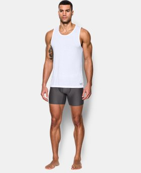 New Arrival Men's UA Core Tank Undershirt – 2-Pack LIMITED TIME: FREE U.S. SHIPPING 1 Color $35