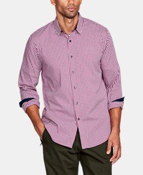 Men s heatgear button down shirts under armour us for Under armour heat gear button down shirt