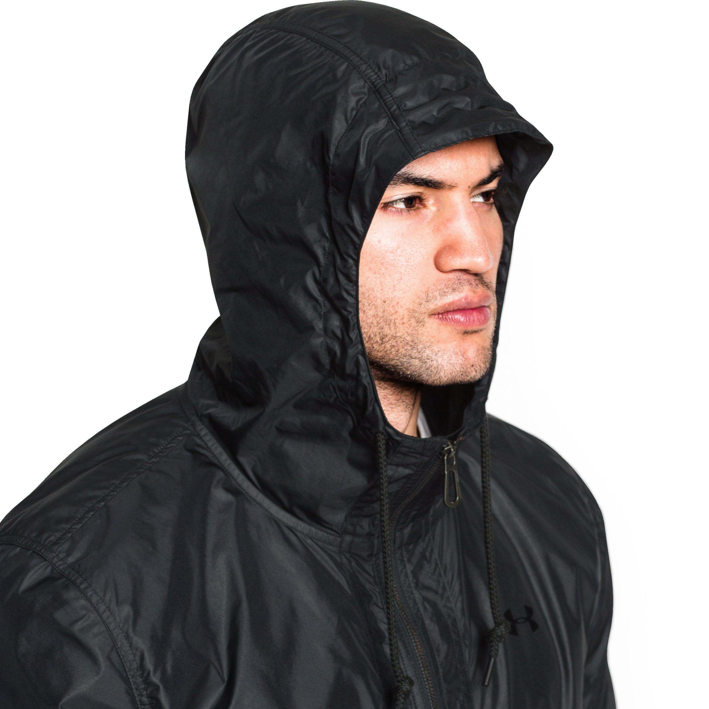Men's UA Performance Windbreaker, Black