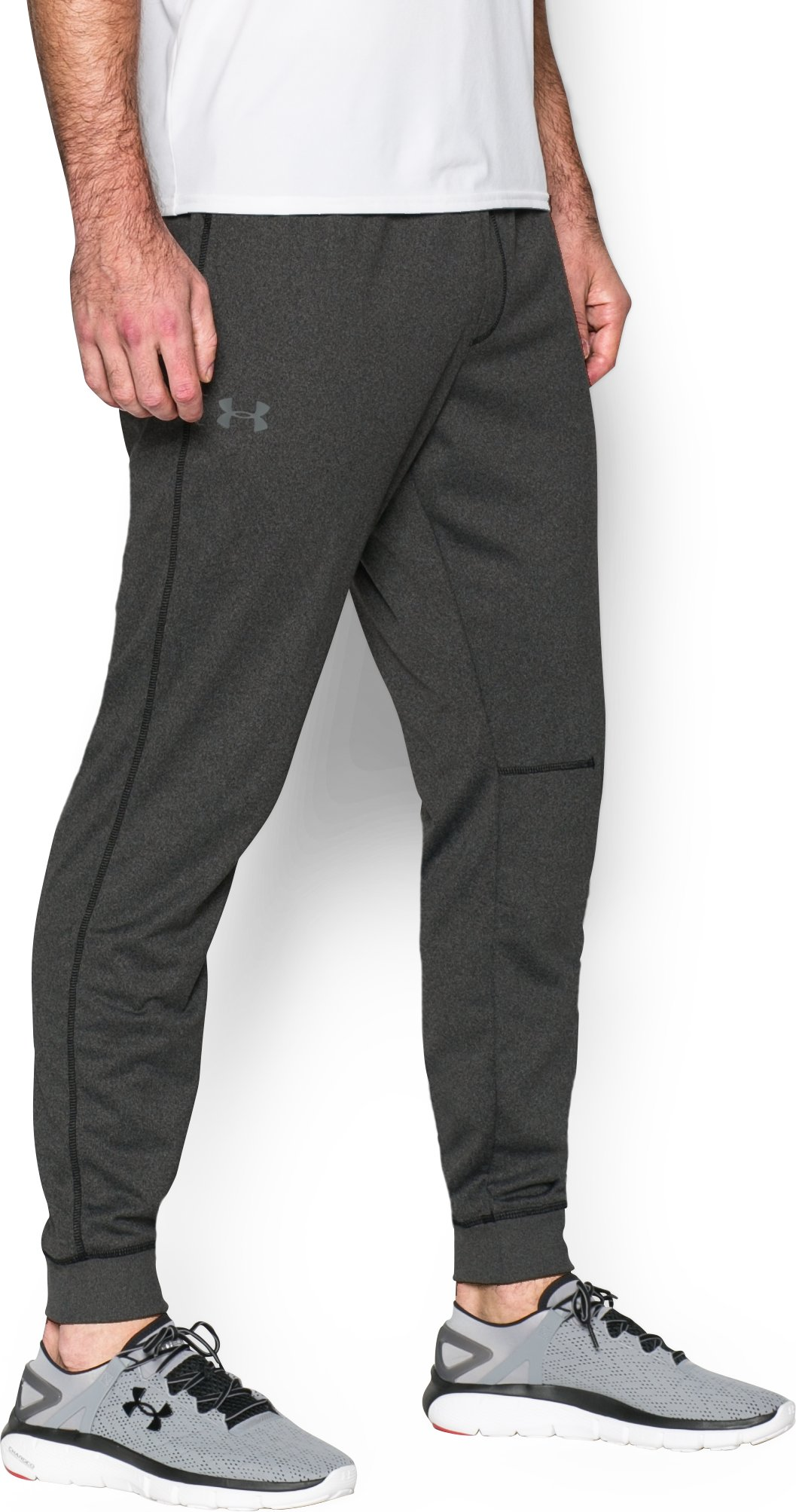 Men's UA Sportstyle Jogger Pants, Asphalt Heather, zoomed image