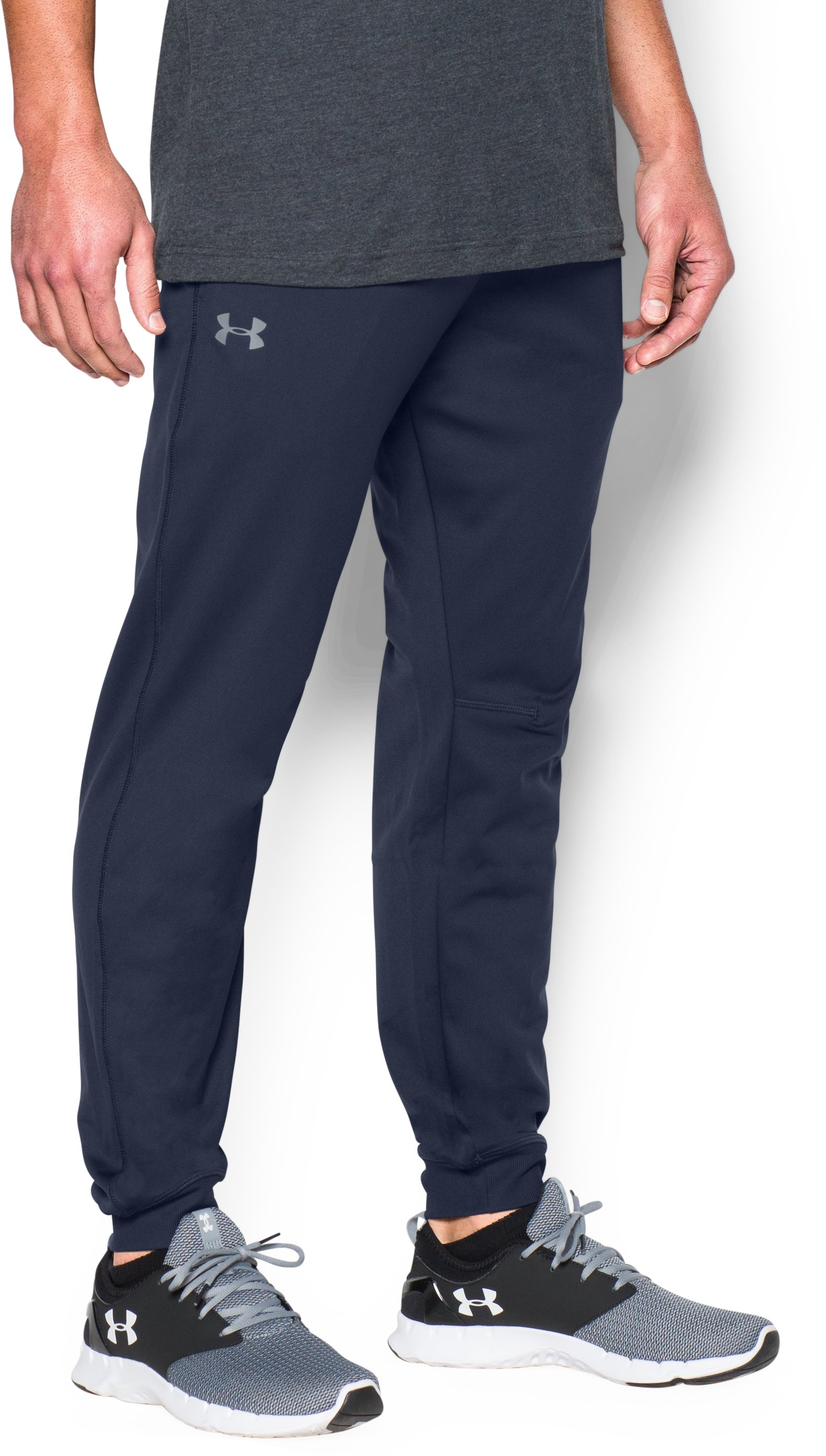Men's UA Sportstyle Jogger Pants, Midnight Navy, zoomed image