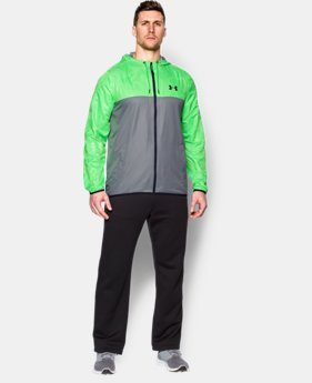 Men's UA Sportstyle Windbreaker LIMITED TIME: FREE U.S. SHIPPING 2 Colors $35.99 to $44.99
