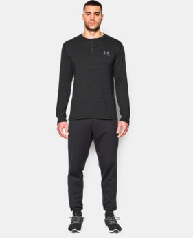 Men's UA Sportstyle Long Sleeve Henley