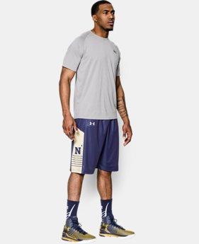 Men's Navy UA Basketball Shorts LIMITED TIME: FREE U.S. SHIPPING 1 Color $44.99