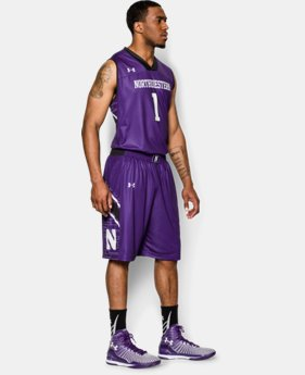 Men's Northwestern UA Basketball Shorts LIMITED TIME: FREE U.S. SHIPPING 1 Color $44.99