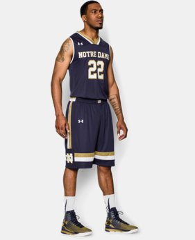 Men's Notre Dame UA Basketball Shorts