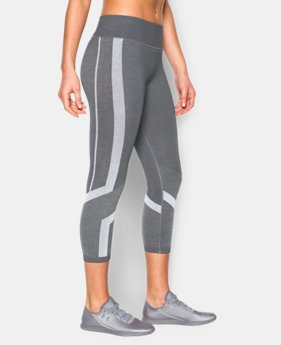 Women's UA Seamless Crop LIMITED TIME: FREE U.S. SHIPPING 1 Color $39.74